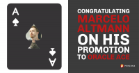 Marcelo Altmann promotion to Oracle ACE