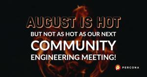 Percona Community Engineering Meeting