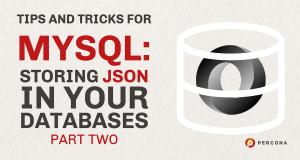 Storing JSON MySQL