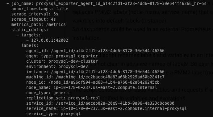 VM configuration files