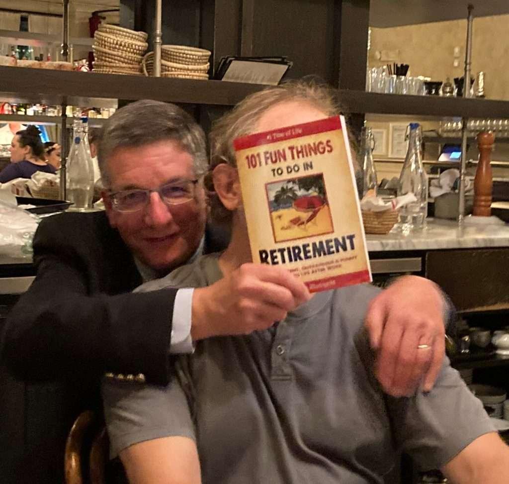 Tom thanks Vadim for his gift of retirement guidance!