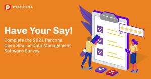 2021 Percona Open Source Survey