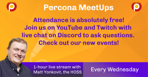 Join Percona Community MeetUps
