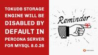 TokuDB Disabled in Percona Server for MySQL