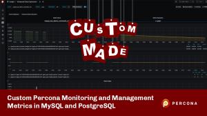 mysql postgresl custom metrics