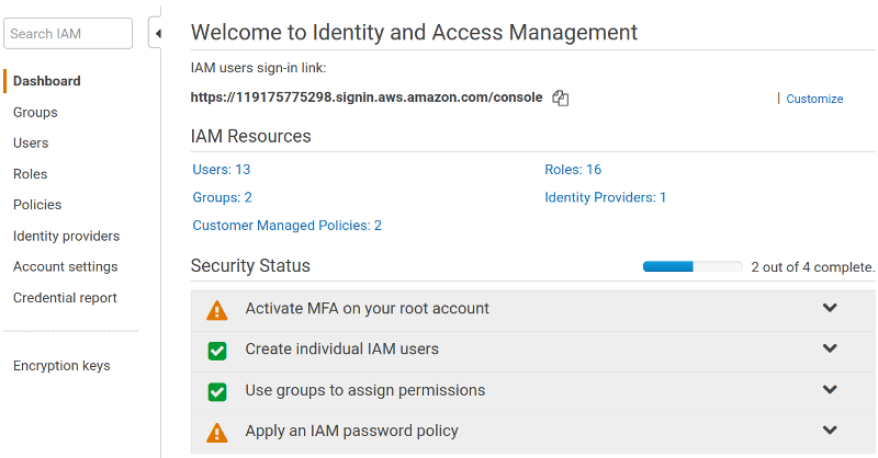 Adding an Amazon RDS DB instance to PMM