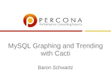 UC2010 MySQL Graphing and Trending with Cacti
