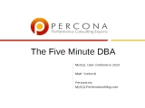 UC2010 The Five Minute DBA