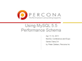 O'Reilly MySQL Conference and Expo, April 11-14, 2011: Using MySQL 5.5 Performance Schema