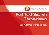 Full Text Search Throwdown