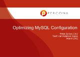 Optimizing MySQL Configuration