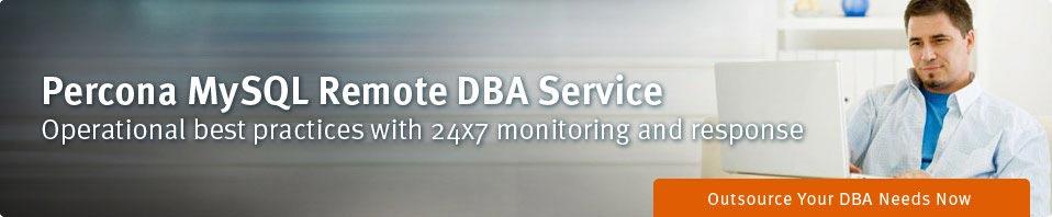 Percona MySQL Remote DBA