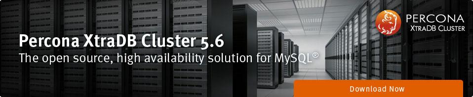 Percona XtraDB Cluster 5.6