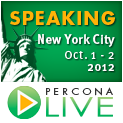 Percona Live New York City, October 1 - 2, 2012