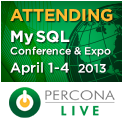 Percona Live MySQL Conference & Expo 2014, April 1-4