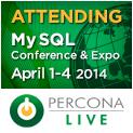 Percona Live MySQL Conference and Expo, April 1-4, 2014