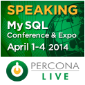 Percona Live MySQL Conference and Expo, April 1-4, 2014