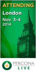 Percona Live London, November 3-4, 2014