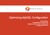 Optimizing MySQL Configuration