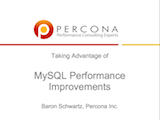 Oracle Development Tools User Group, August 2010: Taking Advantage of MySQL Performance Improvements