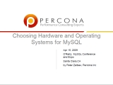 UC2010 Chosing Hardware And Operating System For MySQL