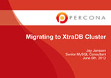 Migrating To Percona XtraDB Cluster