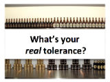 Opening Keynote: What's Your Real Tolerance?