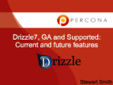 Drizzle 7, GA and Supported: Current & Future Features